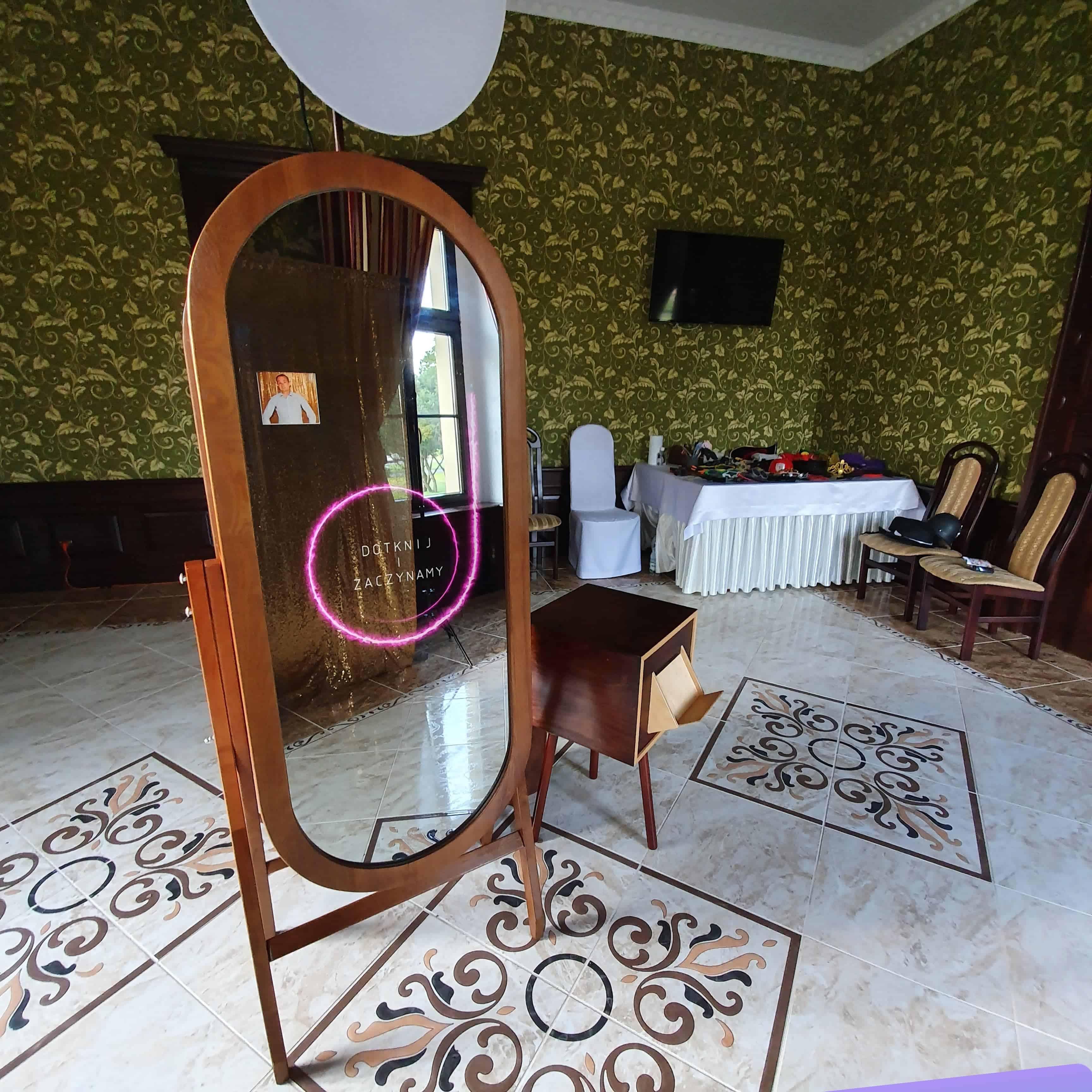 retro selfie mirror warszawa wroclaw krakow